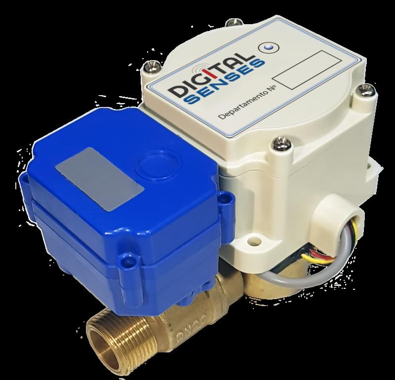 Medidores digitales de agua